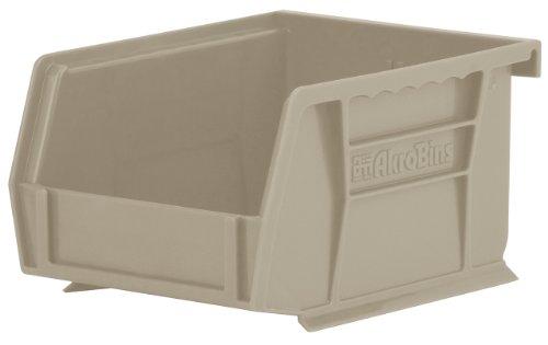 akro-mils 3021012,7cm von 4-Zoll von 3Zoll Kunststoff stapelbar zum Aufhängen Akro Bin, berry, 24er Pack, 30210STONE