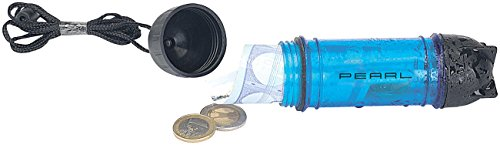 PEARL Wasserdichte Geldbörse: Wasserdichte Schwimmbox in Kapselform (Wasserdichte Tasche für Wertsachen)