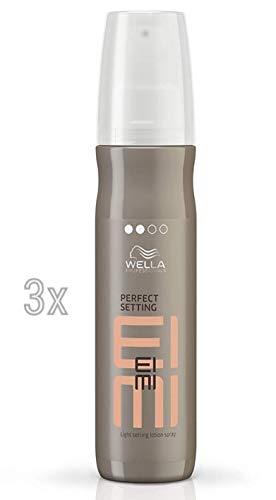 3er Set Wella Professional Wet Perfect Setting Föhnlotion 150 ml