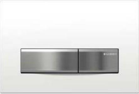 Preisvergleich Produktbild Geberit Sigma50 Betätigungsplatte, 1 Stück, weiß, 115788115