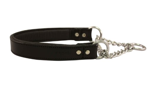 leather-martingale-dog-collar-choker-18x1-235-fully-extended-black-100-genuine-leather-rio-with-stai