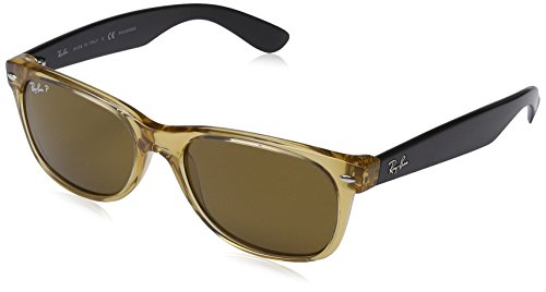 Ray-Ban Sonnenbrille, Schwarz (honey Black),55 mm,RB 2132 55 945/57