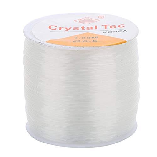 Línea hilo cordón elástico cristal fuerte cadena