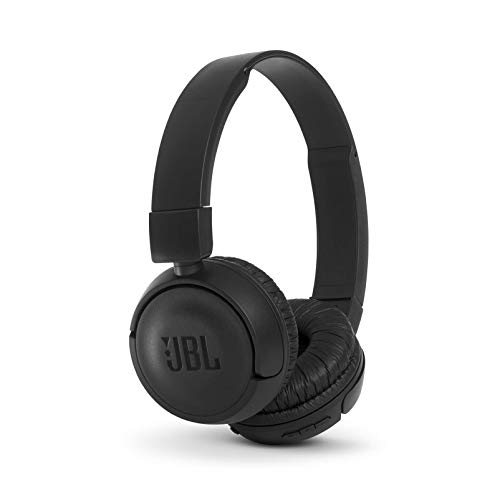 (Renewed) JBL T460BT Extra Bass Wireless On-Ear Headphones with Mic (Black)