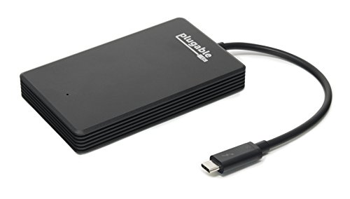 Plugable Thunderbolt 3 480GB NVMe SSD (fino a 2400MB/s+ in scrittura, 1200MB/s+ in lettura)