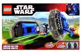 Lego Year 2007 Limited Edition Star Wars Series Vehicle Set #7664 - Tie Crawler with 2 Exclusive Shadow Trooper Minifigures (548 Pieces) (japan import) - Star Wars