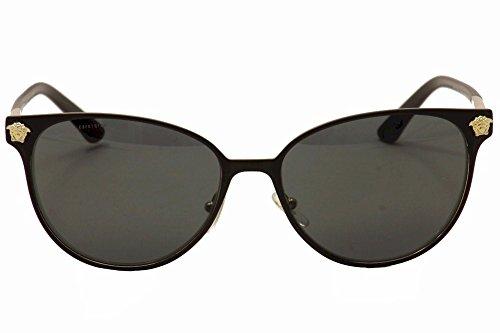 Versace Sonnenbrille (VE2168) MATTE BLACK/PALE GOLD
