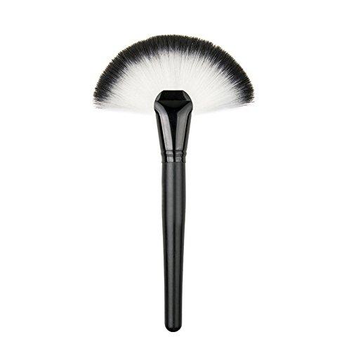 Wicemoon Poignée en Bois Cosmétique Brush Pinceau Maquillage Pinceaux Maquillage Maquillage Brosse pour Produits de Toute Consistance