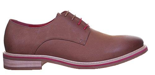 Justin Reece , Chaussures de ville à lacets pour homme Brown GF1