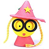 Pink LONG SHENG Car Antenna Ball Cartoon EVA Car Top Aerial Topper Car Antenna Topper Aerial Ball