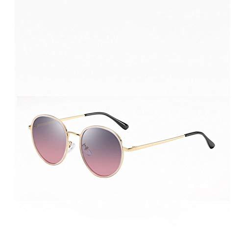 Chudanba Neue Marke Design polarisierte Sonnenbrille Dame Elegante Brille weibliche runde Fahren Eyewear,1