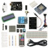 OverviewThe kit has more than 17 projects for the beginners. We will offer you a detailed tutorial including project introduction and their source code. You may learn about Arduino through using these basic projects.SainSmart UNO R3 now uses an ATMeg...
