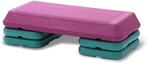 Kleine Aerobic Stepper Step Steps Übung Cardio Gym Yoga Home Workout Pilates Plattform 3 Level Einstellbare Fitness Step Board (Farbe: Schwarz Größe: 72cm)-72cm_rosa Stepper Steppbrett