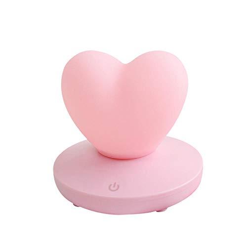 Elektronische Geschenke spezielle kreative Nachttischlampe elektronisches Geschenk USB-Touch-Tischlampe Atmosphäre führte Liebe, Ball pink_1A (Schild Baby-elektronisches)