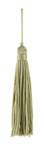 Set von 10Salbei Chainette Quaste, 7,6cm lang mit 2,5cm Loop, Basic Rand Collection Stil # RT03Farbe: salbei grün L83 -