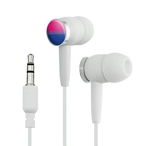 Bi bisexualität Pride Flagge pink violett blau Neuheit in-Ear Kopfhörer Kopfhörer