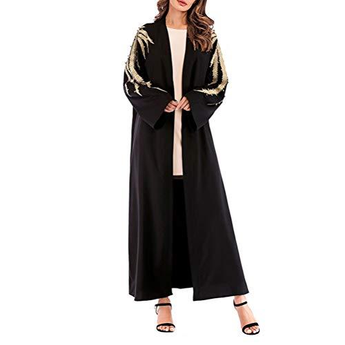 TENDYCOCO Bata musulmán Bata túnica Gran tamaño