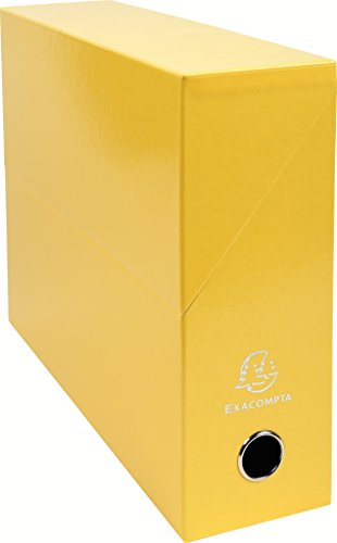exacompta-89928e-boite-transfert-papier-9-cm-jaune