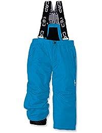 CMP Feel Warm Flat Pantalones, Unisex niños, Azul (Cyano), 128 (8 años)