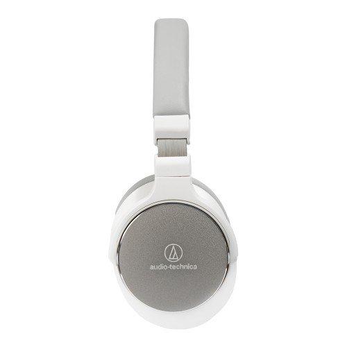 Audio Technica ATH-SR5BT Kabelloser Bluetooth High-Resolution On-Ear Kopfhörer Weiß - 2