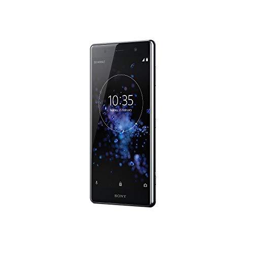 Sony XZ2 Premium Smartphone da 6 GB, Nero, [Italia]