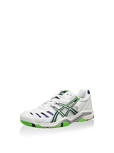 Asics Gel-Challenger 9, Uomo Scarpe da Tennis Bianco/Blu Scuro/Verde