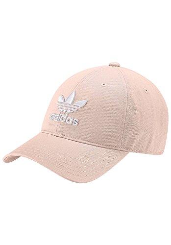 adidas Trefoil Kappe, Blush Pink/White, One size