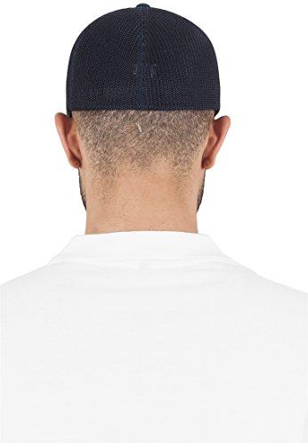 Flexfit Mesh Trucker Baseball Cap für Damen und Herren als Fitted und Snapback Kappe