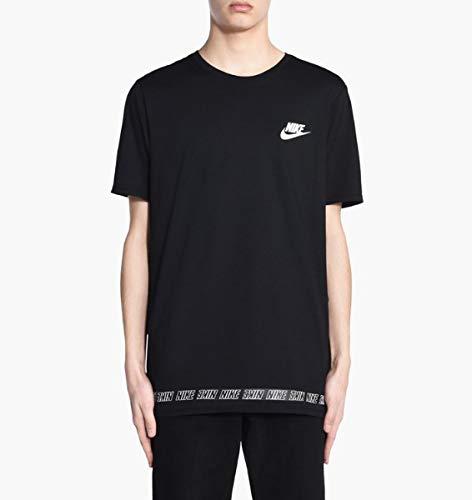 Nike - 892056 - T-Shirt - Homme- Multicolore (Light Bone/Noir) - Taille: M