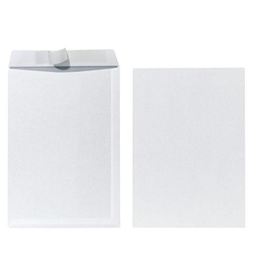 Herlitz 00734491 Papel Color blanco - Sobre (C4 (229 x 324 mm), Papel, Color blanco)