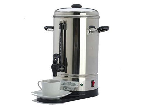 Elektrischer Profi Kaffeebereiter aus Edelstahl, 6 Liter, 2 Heizsysteme, 1150 Watt; KB06 GGG