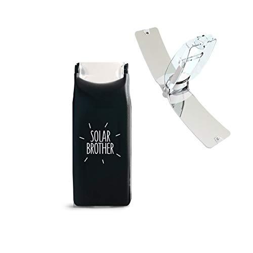IDCOOK - Mechero solar Bi energía, Briquet Bi-energie Noir