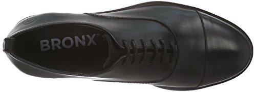 Bronx - Bbelugax, Scarpe da ginnastica Donna Nero (Nero (01 black))