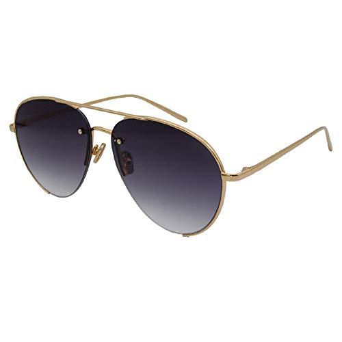 YISHIOR Pilot Sonnenbrillen für Herren und Damen, Running/Sport/Golf Reflective Mirror 100% UV-Schutz Retro-Design,Graysheet,OneSize