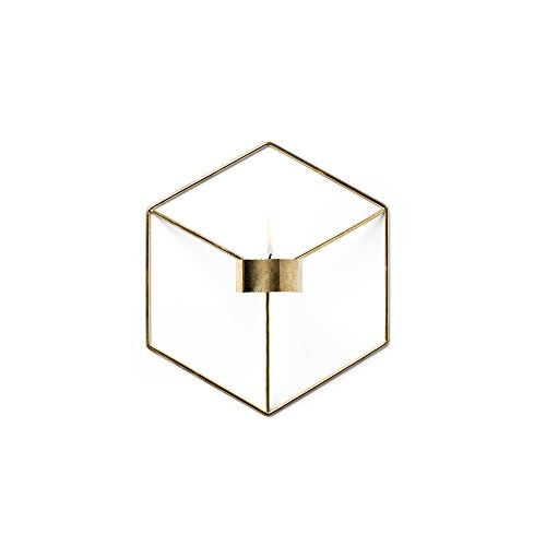 Menu - POV Wandkerzenhalter - messingfarben - Note Design Studio - Design - Kerzenhalter
