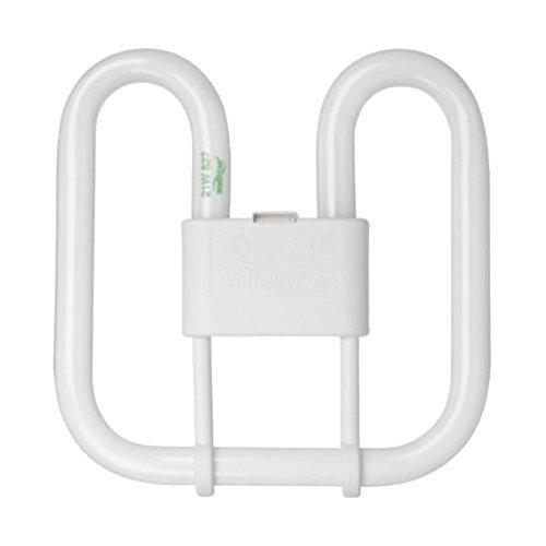 GE Kompaktleuchtstofflampe 21 W 2D 835 4-Pin, weiß -