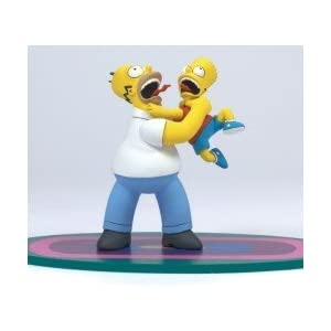 Homer & Bart Why You…!! McFarlane The Simpsons Series 1 Action Figure by Unknown