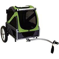 DoggyRide Mini Fahrradanhänger für Hunde leicht Konvertiert auf Kinderwagen (optional mit Kit)