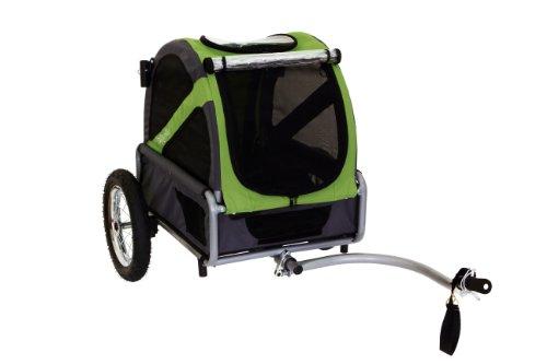 DoggyRide Mini perro bicicleta remolque convierte...