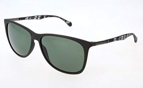 BOSS Hugo Herren Hugo Orange Sonnenbrille, Schwarz, 58