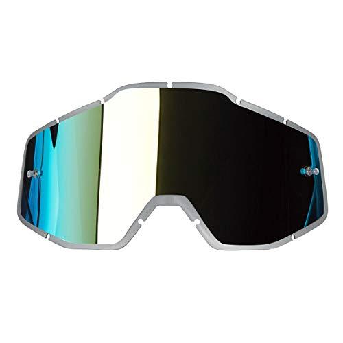 100 Percent Lente Para Gafas Mx Accuri - Racecraft - Strata Anti-Fog Oro Mirror (Default, Oro)