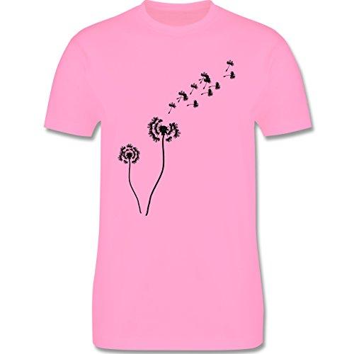 Statement Shirts - Pusteblume Löwenzahn - Herren Premium T-Shirt Rosa