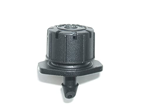 Micro Garden Watering Irrigation Adjustable Dripper/Sprinkler 0-40LPH Antelco, Pack of 10