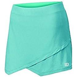 Wilson W SU Envelope 12.5 Skirt Water - Falda para mujer, color azul, talla S