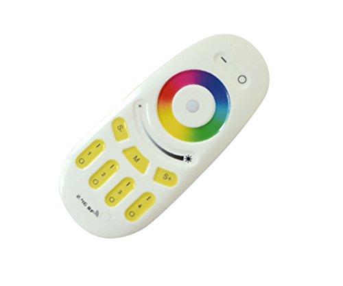 NRG Clever RGB 2.4Ghz, 2.4G IR Pannello Touch RGBW RGB LED Telecomando Wireless per Lampade Strisce di Luci 2.4Ghz LED Colore Luminosità Variatore Flash Dissolvenza Strobe Modalità Controllo per NRG Clever SLH2-9W