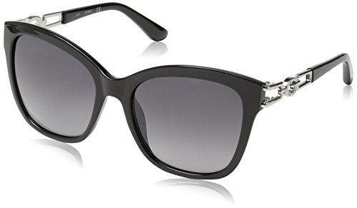 Guess GU7536 05B 55 Montures de lunettes, Noir (Nero), Mixte Adulte