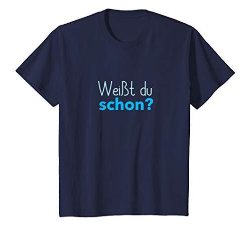 Kinder Großer Bruder 2020 Shirt Weißt du schon Werdender Bruder T-Shirt (Große-bruder-schwester-shirt)