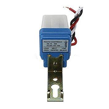 Interruptor fotoelectrico - TOOGOO(R)2pzs AC Auto Encendido Apagado Luz de calle de...