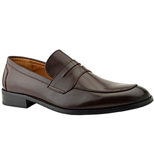 Zapatos de piel con hebilla de Robelli para hombre