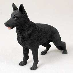 German Shepherd Dog Figurine - Black by Conversation Concepts -